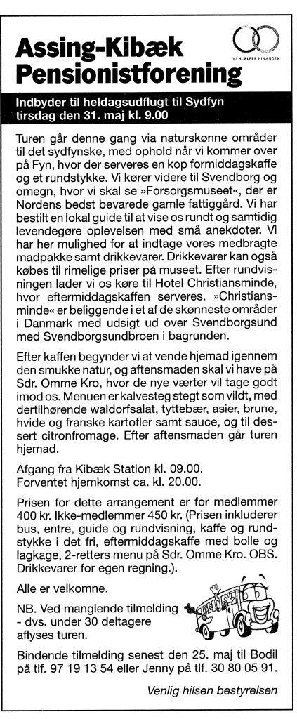 31-05-2016Heldagstur til Svendborg