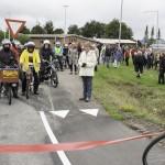 Så er cykelstien endelig på vej….