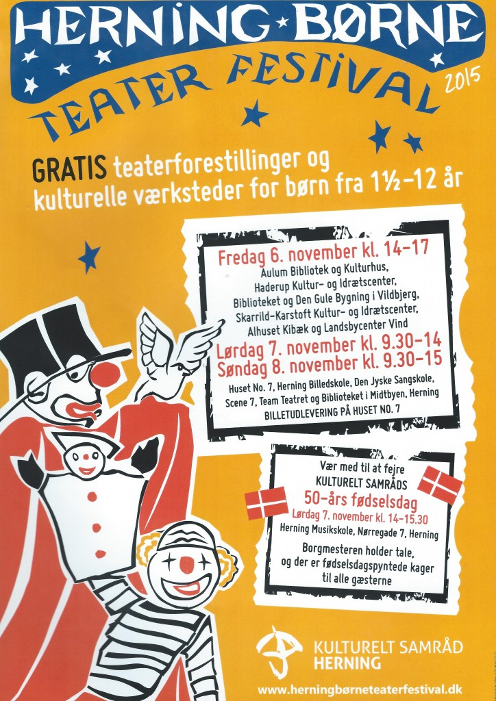 Teaterfestival Nov. 2015